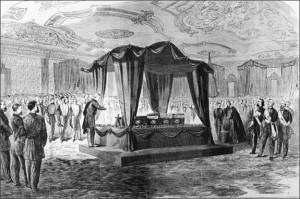 Lincoln funeral - East Room 2