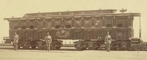 Lincoln funeral - train 1 crop