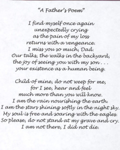 Memorial poem 1