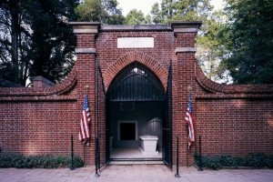 Washington gravesite today