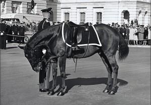 riderless horse - JFK funeral - Black Jack 1