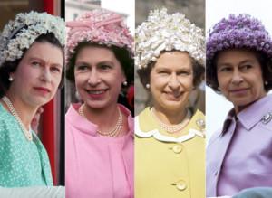 1960s - 1970s - Queen Elizabeth Hats