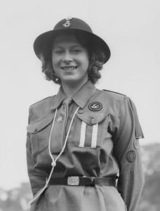 Princess Elizabeth - Girl Guide uniform