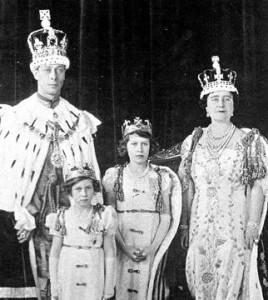 Princess Elizabeth - coronet for King George VI coronation