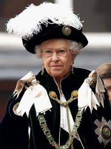 Queen Elizabeth - Order of the Garter Hat