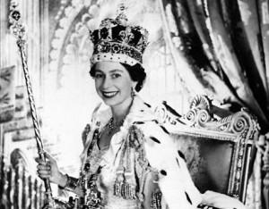 Queen Elizabeth coronation 1