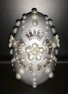 Silver Egg - finished