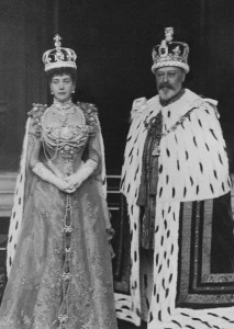 King Edward VII and Queen Alexandra- coronation