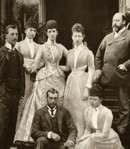 Prince Albert Edward - his children