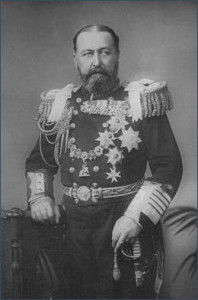 Prince Alfred - in uniform