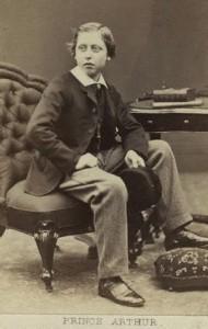Prince Arthur 1864