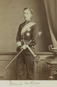 Prince Arthur - in uniform