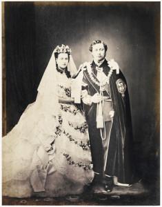 Prince Edward and Princess Alexandra 1863