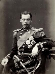 Prince Leopold - in uniform
