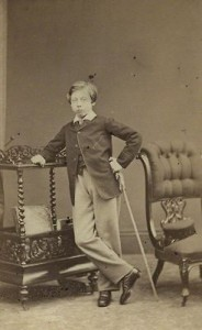 Prince Leopold - young
