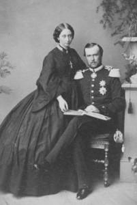 Princess Alice and her husband