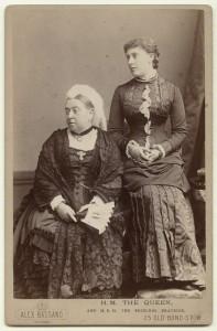 NPG x32717; Queen Victoria; Princess Beatrice of Battenberg by Alexander Bassano