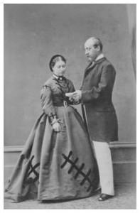 Princess Helene with her husband 2