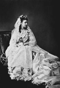 Princess Louise in wedding dress 1
