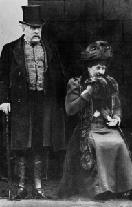Princess Louise with her husband
