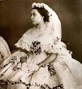 Princess Victoria - wedding dress