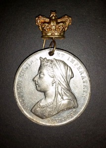 Queen Victoria - Jubilee medal front
