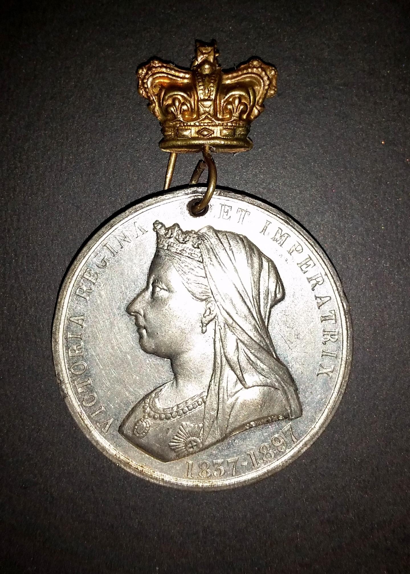 Queen Victoria Jubilee Medal Front