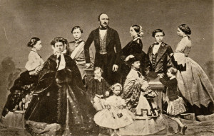 Queen Victoria and Prince Albert with their children