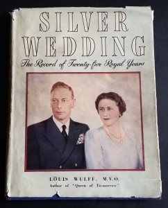 Silver Wedding book