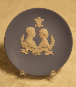Wedgewood plate - 1981 wedding