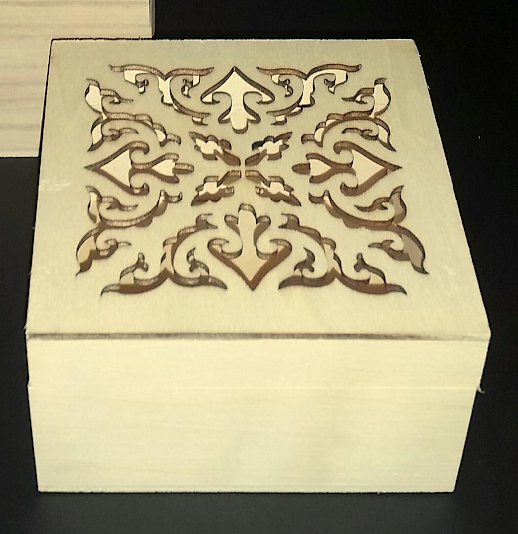 Laser Cut Square Box 1