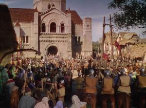 Adventures of Robin Hood movie scenes 1