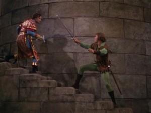 Adventures of Robin Hood movie scenes 3