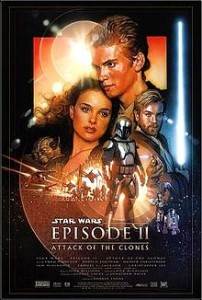 Attack of the Clones poster