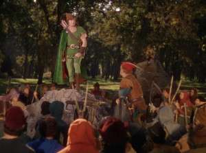 Errol Flynn as Robin Hood 1