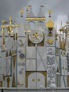 It's a Small World clock 1