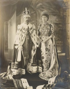 King George V and Queen Mary - Delhi Dubar portrait