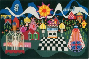 Mary Blair concept art for It's a Small World 1