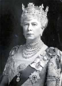 Queen Mary - Duchess of Teck Diamond Collet Choker
