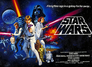 Star Wars poster of original film