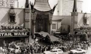 Star Wars premiere 1977
