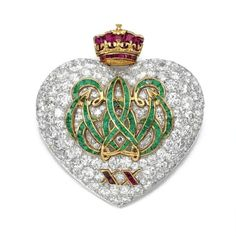 Cartier Windsor 20th anniversary brooch