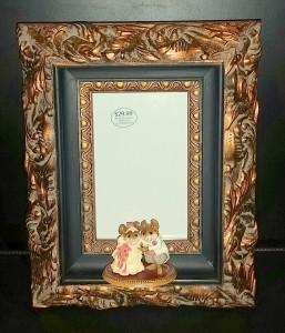 Framed Wedding Invitation - Wee Forest Folks 1