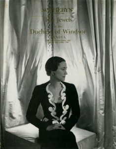 Sotherby's Duchess of Windsor Auction catulog