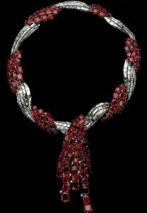 Van Cleef Arpels Ruby Necklace
