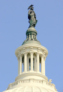Capitol dome lantern - exterior