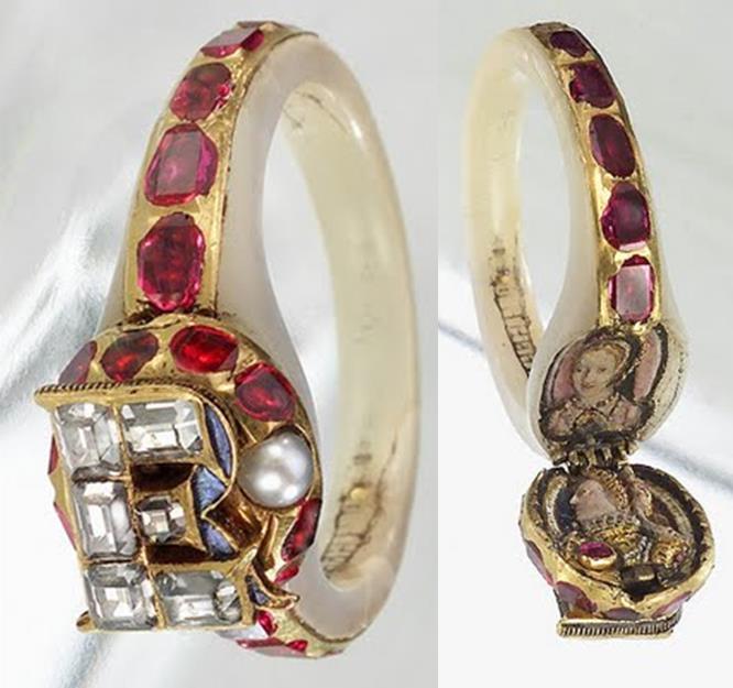 Queen Elizabeth Ring Anne Boleyn