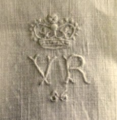 Queen Victoria royal monogram on knickers 1