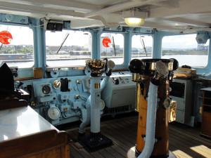 Britannia Royal Yacht - bridge