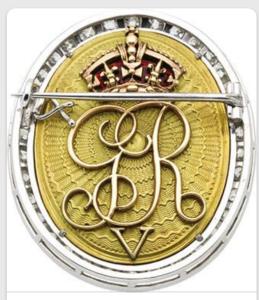 King George V - reverse side